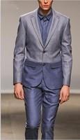 2013 New  men business dress suit fashion groom Boss Wedding  Suit  Jacket +Pants size S-4XL