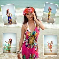 Spaghetti strap beach dress swimwear big mantillas beleaguer yarn bikini yarn skirt beach towel