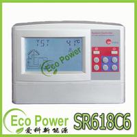 Intelligent solar water heater controller SR618C6 for split pressurized solar water heater