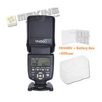Yongnuo YN-560IV Flash Speedlite Speedlight for Canon Nikon Pentax Olympus Panasonic wireless Support RF-602 with Soft Case