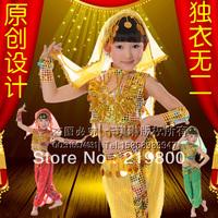 Child dance clothes costume set dance performance wear leotard