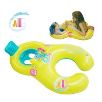 1pcs New Arrival Mother and Child Swimming Ring & Double Person Swimming Ring For Baby Free Shipping