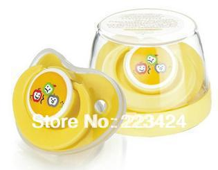 Baby  pacifier teether with storage box, nipple, silicone,cheap price, high quality, free shipping