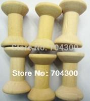 4.8*3.1 cm  Zakka Wooden Bobine Classic style DIY Wooden Spool Archaize color