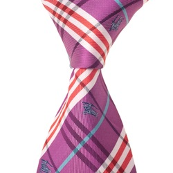 Purple Combined check stripe Elegant Silk Classic Woven Man Tie Necktie Silk Gental Charming Man Tie Free Shipping(China (Mainland))