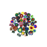 2015 Free Shipping Wholesale Millefiori glass with 3~10mm (10bags/bag) COE90