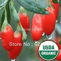 1kg Certified Organic Goji Berries,100% organic Wolfberry, Ningxia Medlar,Good for Sex,Free Shipping