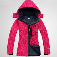 2013 Womens Brand New Waterproof softshell  outdoor ladies jacket 9 Color fashion fleece coat
