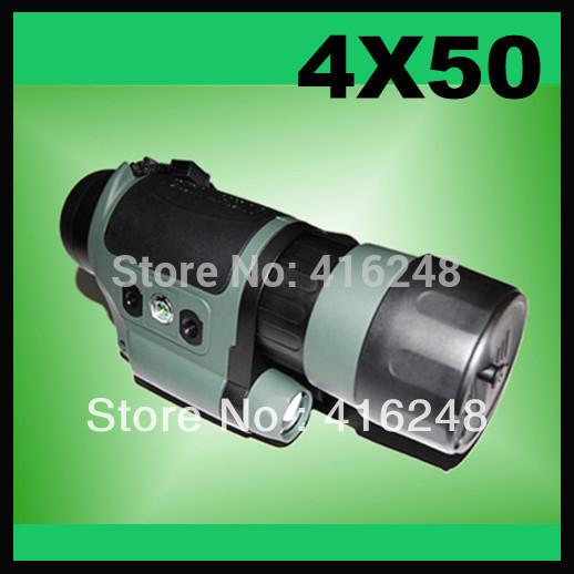 WH28 NVG 4X50 Built-in IR illuminator Light weight Night Vision Device(China (Mainland))