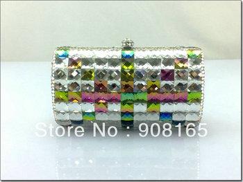 high-quality 2013 women handbags,new colorful British flag clutch crystal,women fashion designer bags.free shipping