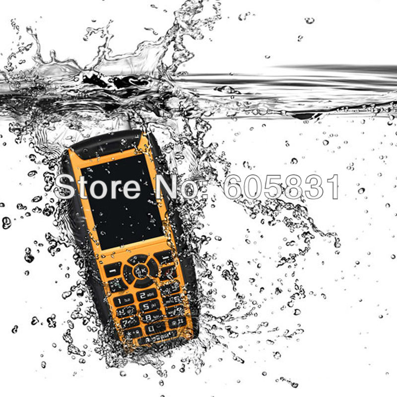 Chinese Original Brand RG860 Best quality PTT outdoor Unlocked cellphone Real Waterproof Dustproof mobile phone GPS Touch screen(China (Mainland))
