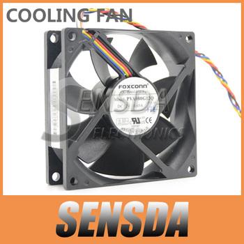Foxconn 8025 PVA080G12Q 12V 0.65A 3Wire For 775 CPU Cooler Fan Server Inverter Radiator DC Brushless Fan