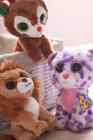 Free Shiping Ty plush toy animal saidsgroupsdirector pig cattle dolls doll birthday gift kid minnie stitch baby stuffed toy 1
