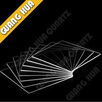 JGS2Clear quartz plate /Optical quartz plate /square glass plate 60mm*60mm*1 mm