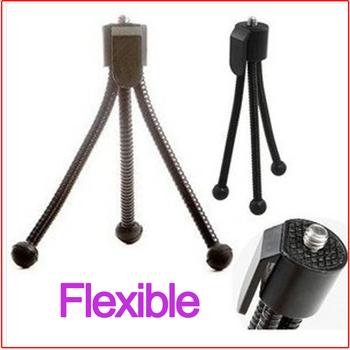 Free Shipping + Tracking Number 10PCS/Lot Flex/Flexible/Adjustable Mini Webcam/Digital Camera Tripod