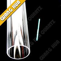 transparent quartz tube/clear quartz tube