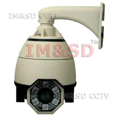 7inch CCTV Sony CCD 700TVL 300X Digital Zoom PTZ 3.0-90mm Lens Waterproof Intelligent Dome PTZ IR Camera(China (Mainland))