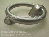 6pcs lot free shipping Classical stainless steel circular door knocker/stainless steel knocker/door pull