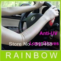 20pcs/lot 10pairs Special Summer Women Female Long Gloves Skin Care Sunscreen Anti-uv glove Arm sleeve Car Cuff Free Shipping
