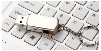 Wholesale - Free shipping 64GB USB flash memory drives USB 2.0 storage metal good gift(10PCS)