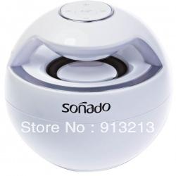 Sonado F16 Bluetooth 2.1 + EDR Mini Speaker 40M Transmitting Range 360 Degree of Reflective Sound Long stroke Resonance Membrane
