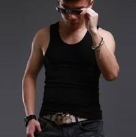 Very Cheap! New Style Mens Bottoming Tank tops Sports Casual Fashion Mens Shirts free shipping JM006