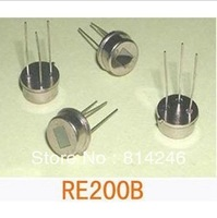 Free shipping !! 10pcs   human body RE200B pyroelectric infrared sensor
