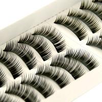 Thick False Eyelashes 10pairs 1.2cm Eyelashes length