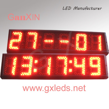 5 inch led square wall clock timer stopwatch