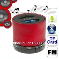 Mini Carter bluetooth speaker / sound box for bluetooth devices with FM radio