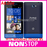 8S Original HTC Windows Phone 8S A620e  GPS WIFI 4.0''TouchScreen 5MP camera Win8 Unlocked Cell Phone Fress Shipping