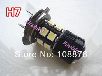 Black Pioneer! 2 X H7 9W CREE cold white led car fog lamps, fog lights or low beam, 360 degree lighting