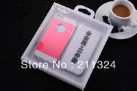 free sipping case for Iphone 5/5G 3 in 1 all metal 10PCS/LOT