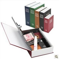 The simulation English Dictionary & novel safe Creative piggy bank mini book safe box, Secret book