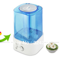 Square Desktop Air Humidifier with 360 fog control