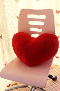 Free Shipping Love cushions home Simple Cushion Hearts Cushion creative heart shaped love sofa pillow(China (Mainland))