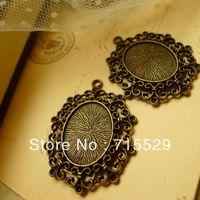 Free shipping  Inner size 20*27mm,antique Pendant base Setting/bronze pendant ,alloy base cameo setting by 30pcs/lot