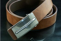 Letters buckle belt,men Genuine Leather belt  Free shipping !