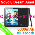 "Ainol Dream Novo 8 Quad Core 1.5GHz ATM7029 Screen Android 4.1 Tablet PC 8"" HDMI 1GB RAM 16GB ROM Dual Camera(China (Mainland))"
