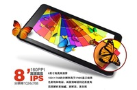 Android 4.1 Tablet PC - 8.0 Inch HD IPS 4:3 Screen Dual Core 1.5GHz WiFi Bluetooth 1G /8GB 4000mAh External 3G 2.0MP/0.3MP