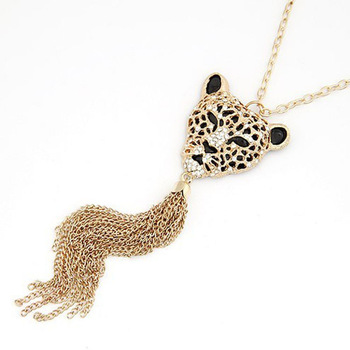 Min Order 15$ Free Shipping 2013 Newest Vintage Style Lion Necklaces Fashion Good Quality Wholesale Hot BL0331