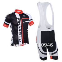 The Lowest Price! Any Way To Match! New! 2013 PINARELLO Team Black&Red Pro Cycling Jersey / (Bib) Shorts-B167 Free Shipping!