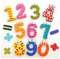 Free Shipping   150pcs/lot (15pcs/pack) Creative Wooden Fridge Magnet Sticker Fridge magnet Refrigerator Magnet