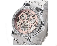 Sale of mechanical watches Mickey Women's Watch The lovely diamond Ms. machinery table