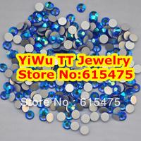 SS20 Sapphire AB color Non Hotfix Rhinestones 1440pcs 4.6mm 20ss crystal flatback Nail Art Rhinestones