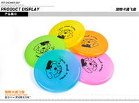 "Large Dog FRISBEE Trainning Puppy TOY Plastic Fetch Flying Disc Frisby 8"" New LX0062 Free shipping&DropShipping"