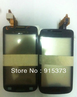 For Samsung Galaxy W i8150 Touch Screen Digitizer replacement Glass Lens In Black Colour; Free shipping
