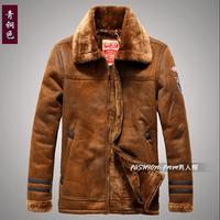 Hot Sale Men Faux Leather Jacket  Mens Fur Coats Winter Fashion Warm Motorcycles Jackets Big Size Garment Free Shipping