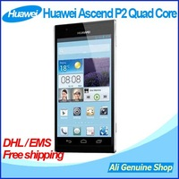 In Stock! Huawei Ascend HUAWEI P2 1.5GHz Android 4.1 4 Nuclear 4.7 Screen 1280x720P 13.0MP, DHL/EMS Free Shipping