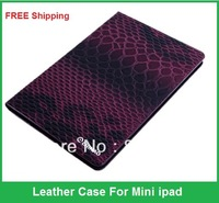 High Quality Brand Leather Case For Mini ipad, Protective Sheel, Folding Folio Bag With Stand,Wholesales,Free shipping,1 pcs/lot